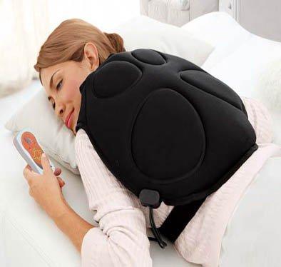 JOCCA 6159–Rücken Massagegerät, anthrazit