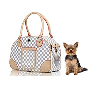 Pet Carrier Puppy Poodle Chihuahua Bag Kitten Cat Dachshund Handbag Collapsible