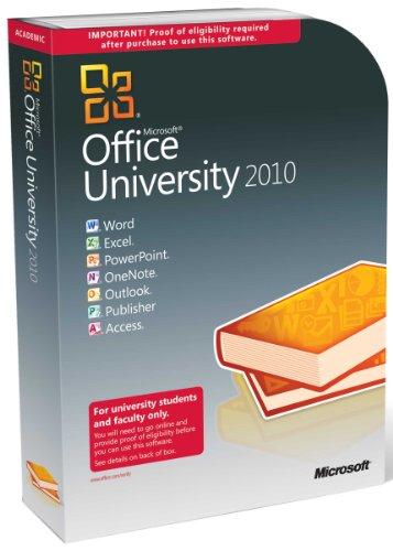 Microsoft Office University 2010 englisch – Berechtigungsnachweis erforderlich