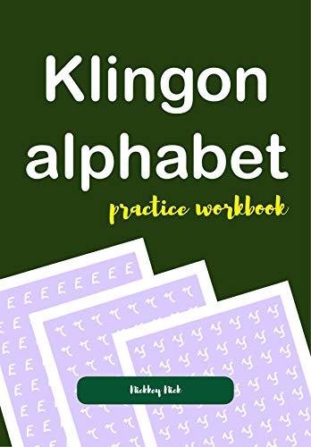 Book cover image for Klingon Alphabet Practice Workbook