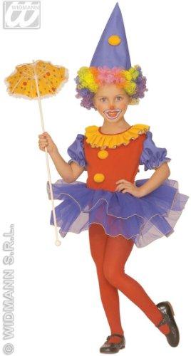 Widmann s.r.l. Clowns-Kostüm für Mädchen 110 (3-4 ()