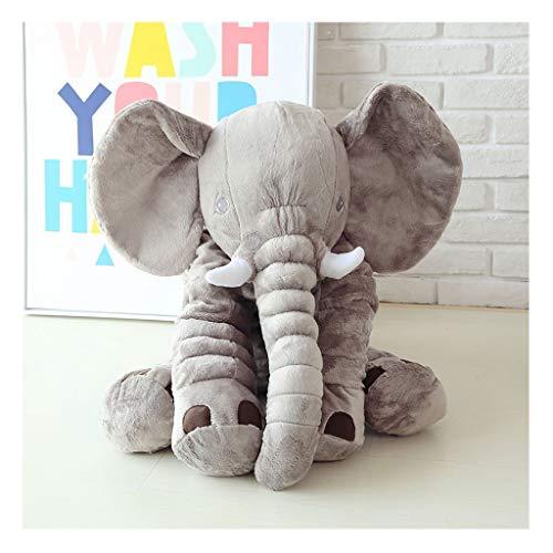 ZXH77f Fuchs Lange Nase Elefant Spielzeug Weiche Plüsch Sachen Puppen Lendenwirbelsäule Spielzeug Elefant Plüschtier Extra Große Größe Tier Plüsch Puppe (Color : Gray)