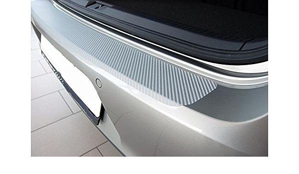 Snudertech Ladekantenschutz Carbon Style Folie Silber Auto