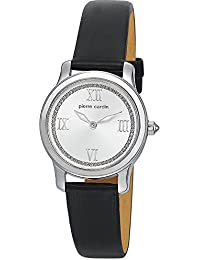 Pierre Cardin Damen-Armbanduhr Special Collection Analog Quarz Leder