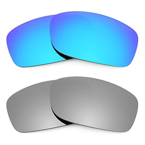 Revant Ersatzlinsen für Oakley Fives Squared Polarisiert 2 Paar Kombipack K004
