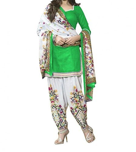 salwar suits for women unstitched Summer Best Selling New Designed Fancy Printed Dress Material Party Wear salwar Suit Multi Color  available at amazon for Rs.210