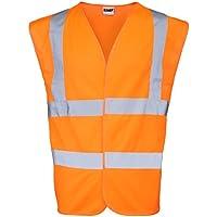 RTY Gilet haute visibilité Orange fluo - 5XL
