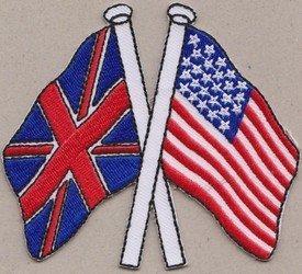 Regno Unito bandiera Stati Uniti Bandiera degli