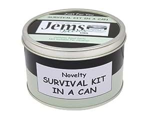 jemsideas kit de survie pour jeunes mari s cadeau humoristique et original avec carte incluse. Black Bedroom Furniture Sets. Home Design Ideas