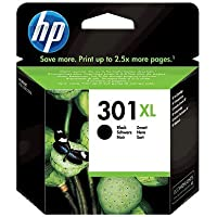 HP 301XL CH563EE Cartuccia Originale per Stampanti a Getto d'Inchiostro, Compatibile con DeskJet 1050, 2540 e 3050…