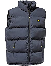 Caterpillar Homme Vestes de sport Mens Gilet Padded Bodywarmer Pinnacle Stormblocker 5 Colours M L XL XXL 3XL 4XL 5XL NEW BLACK, NAVY, RED, SEAPORT BLUE, ARMY GREEN NEW