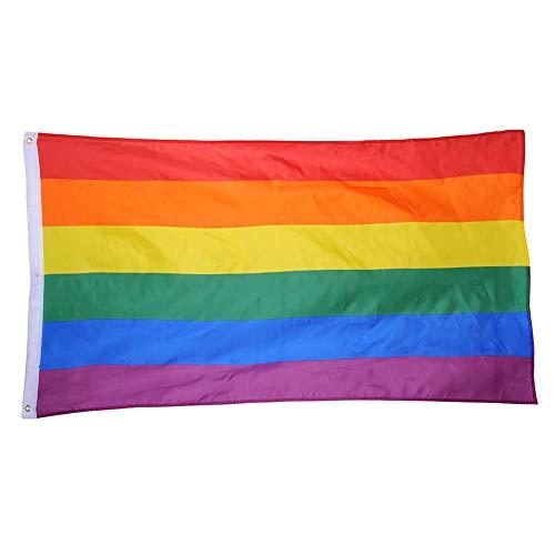 Regenbogenflaggenfestival Karnevalsflagge 90 * 150 cm