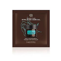The Body Shop Purifying Glow Expert Facial Mask, Himalayan Charcoal, 0. 2 Ounce