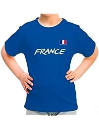 Lolapix Camiseta seleccion de Futbol Personalizada con Nombre y número. Camiseta de algodón para niños. Elige tu…