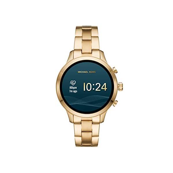 Michael Kors Smartwatch para Mujer con tecnología Wear OS de Google, altavoz, frecuencia cardíaca, GPS, NFC y… 7