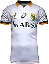 Springboks Sudáfrica oficial Asics irradiar Jersey tamaño XXL