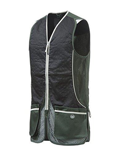 Beretta Herren Silver Pigeon Schießweste, Grün/Schwarz, XL Browning Shooting Vest