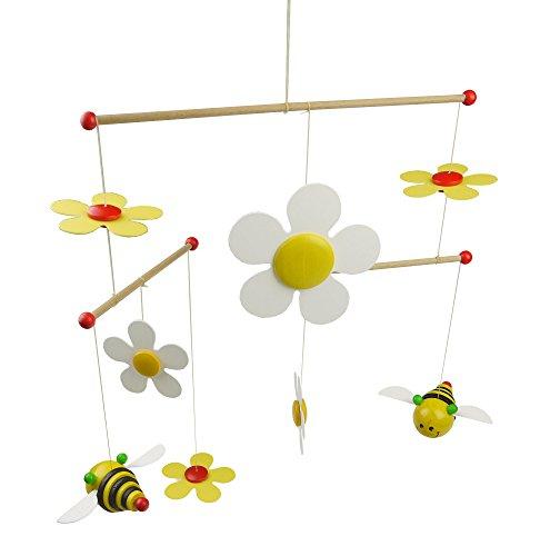 Niermann-Standby 3404 - Mobile Sum Sum - großes Mobile mit Bienchen und Blüten