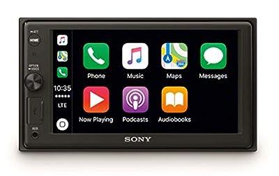 Sony XAV-AX1000 Media Receiver (6.2 Inch, with Bluetooth and Apple CarPlay)