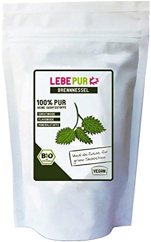 LebePur Bio Smoothie Pulver Brennessel 125g