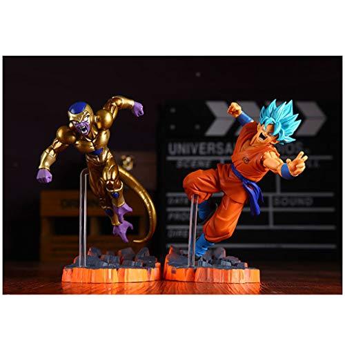 HEAGREN Estatua de Juguete Dragon Ball Juguete de Saiyan Modelo de Juguete Colección de Personajes de Dibujos Animados/Recuerdo/Sun Wukong/Fliesa Juguete (Color : A)