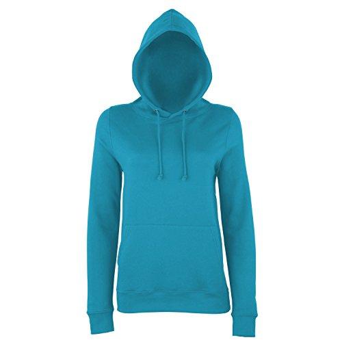 AWDis Just Hoods - Sweatshirt à capuche - Femme Bleu Saphir
