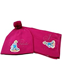 PRINCIPESSA Set Sciarpa Piu  Cappello Bambina Disney PARURE per Ragazza  (Art. 60820914) 945132291d42
