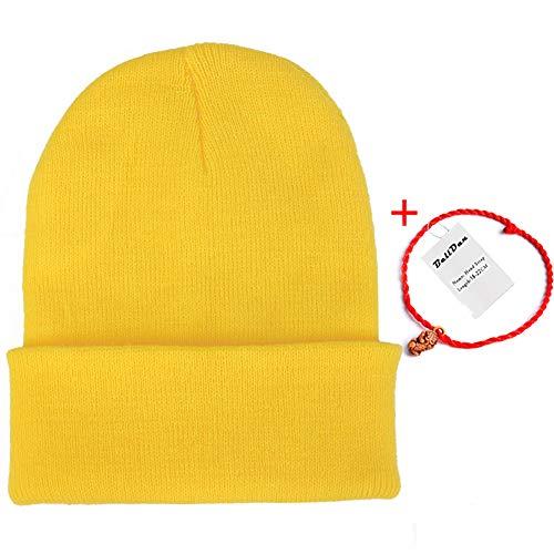 ▷ Compra Gorro Punto Amarillo online al Mejor Precio - Guía del ... 80b6c79a65e