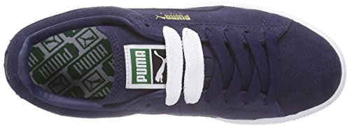 Puma Suede Classic +, Sneaker Unisex-Adulto Blu (Blau (peacoat-peacoat-white 52))