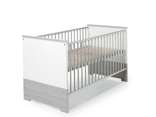 Schardt Eco Silber Kombi-Kinderbett 70x140 cm