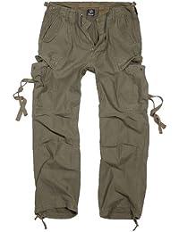 Brandit M65 Vintage Trousers Freizeithose oliv