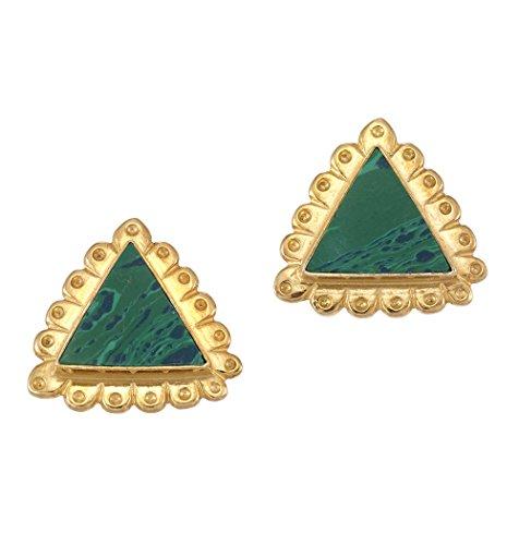 ecker, Grün (Indisch Inspiriert Modeschmuck)