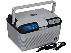Shag 2 in 1 Home and Car Refrigerator Cooler and Warmer 12 Liter