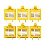 efluky Kit filtros HEPA repuestos de Accesorios para iRobot Roomba Serie 700 720 750 760 765 770 772 772e 774 775 776 776p 780 782 782e 785 786 786p 790 -un Conjunto de 6