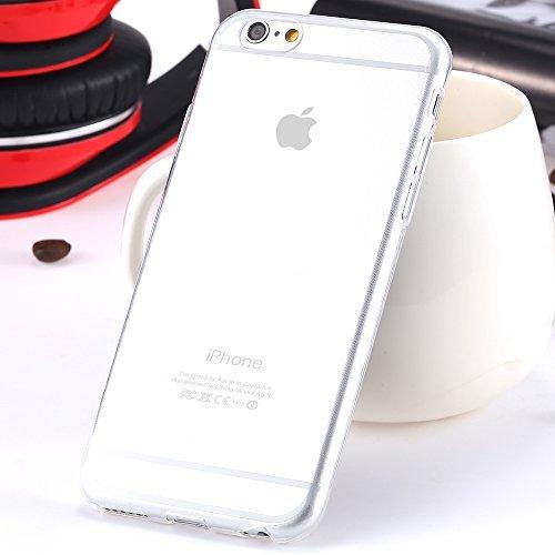 Bee-Square TPU-Case Hülle Schutzhülle Tasche Case Cover für Apple iPhone 6 / 6S - durchsichtig Square Hülle Case