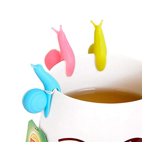 Shop Story–Set de 5puertas bolsas infusor de té en forma de caracol