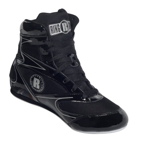 Ringside Youth Diablo Boxing Shoes, Black, 3