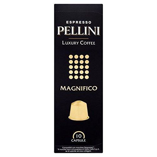 Pellini Lusso Magnifico Caffè Nespresso Compatibili Capsule 10 Per Confezione