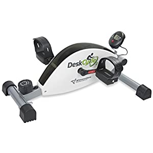 Neu – DeskCycle 2 höhenverstellbar – wie unser DeskCycle bietet der DeskCycle 2 Premium-Low-Profile-Design-Mini-Heimtrainer für EIN belebendes Work-Workout, Glatter, flüsterleiser Magnetwiderstand.