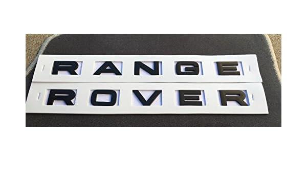 chisushangm Stemma con Numero di Lettere Mot Range Rover