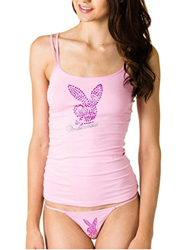 playboy-bridal-womens-g-string-panties-spaghetti-string-top-pink-large