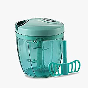 Pigeon Handy Chopper XL 14077 for Chopping, Mincing and Whisking with 5 Stainless Steel Blades and 1 Plastic Whisker (Green)