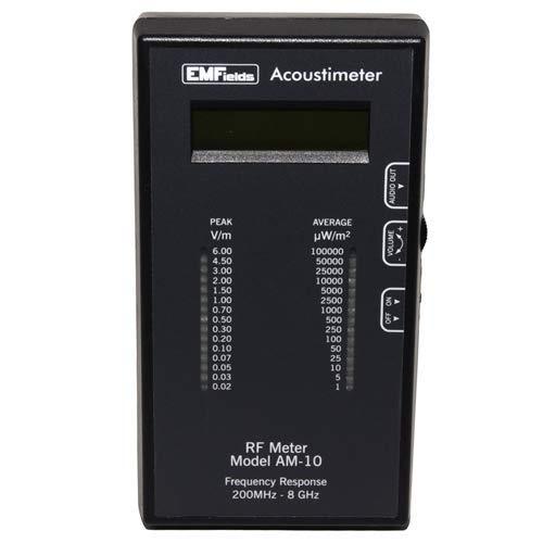 Acoustimeter Elektrostrahlung Meter HF (200 MHz bis ca. 8 GHz) -