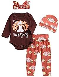 85516b6c9e2b96 Leg Set per Vestito Pigiami da Regalo di Natale per La Famiglia Giochi  d'imitazione VICGREY ❤ 4 PCS Natale Costume Bambino Neonato Ragazza ...