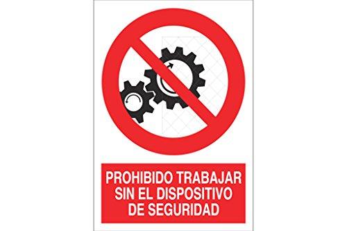 COFAN p58pl297210–Signal verboten Arbeiten ohne das Gerät Sicherheit (Signal-gerät)