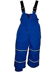 Outburst - Baby Skihose Schneehose Mädchen 10.000 mm Wassersäule Wasserdicht, blau