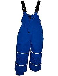 Outburst - Baby Skihose Schneehose Mädchen 10.000 mm Wassersäule Wasserdicht, blau - 104blau