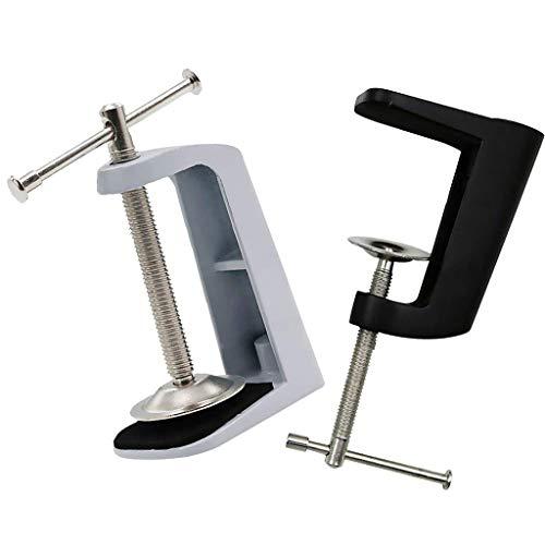 B Blesiya 2 Stück Tischklemme Halter Halterung für Tischlampe Schreibtisch Lampe Befestigung -