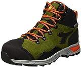 Utility Diadora - Calzado de Trabajo Alto D-Trail Leather HI S3 Sra HRO WR para Hombre ES 39