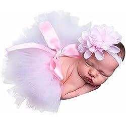 SMARTLADY Recién Nacido Bebé Niña Prop trajes para fotografía Ropa (D)